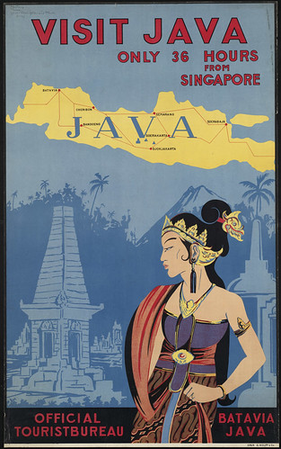 Visit Java. Only 36 hours from Singapore | by Boston Public Library