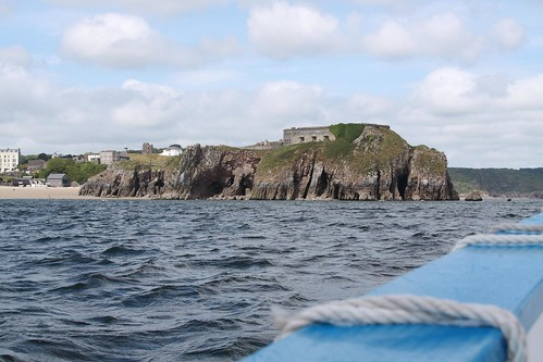 St Catherines Fort from the sea | by DianneB 2007.