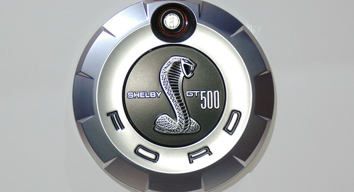 Ford Mustang Shelby Cobra Gt500kr Emblem From Ford Auto