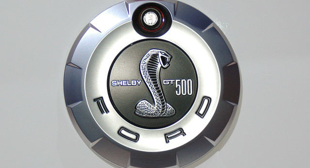 ford mustang shelby cobra gt500kr emblem by fordautoshows - Ford Mustang Shelby Logo