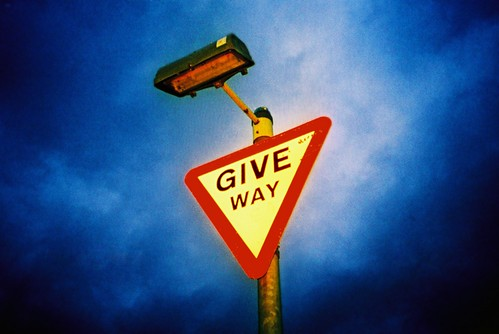 give way | by slimmer_jimmer