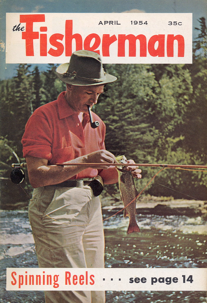 1954 The Fisherman Vintage Fishing & Outdoorsman Magazine … | Flickr