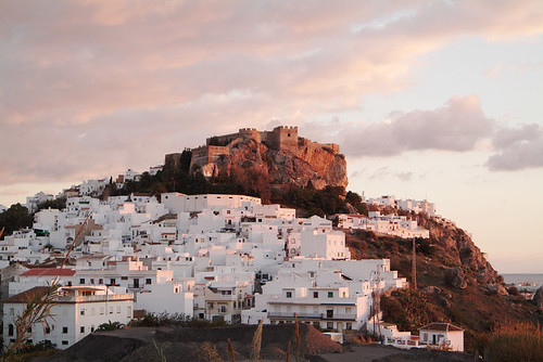 Moorish castle and sugar cube houses, Salobreña, Andalucia | by frotos (Fred Shively)