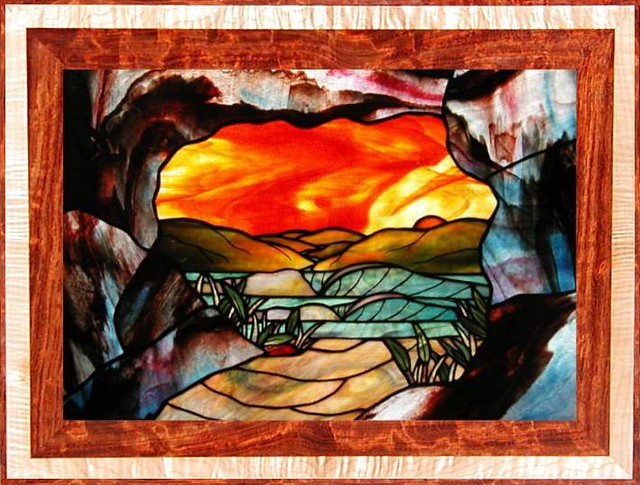 Stained Glass Window Quot Cave Point Ii Quot Stained Glass