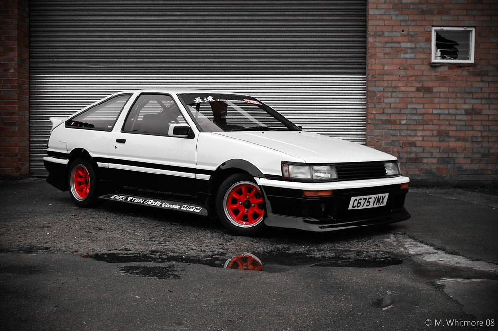 toyota corolla ae86 6 mike whitmore flickr. Black Bedroom Furniture Sets. Home Design Ideas