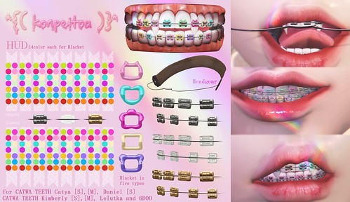 *{( konpeitou )}* kawaii BENTO braces @The Kawaii Project