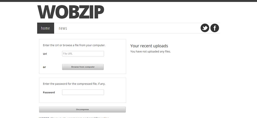 Extremely useful websites #13: This free online service uncompress files up to 200 MB.