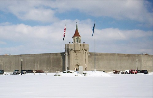 Attica wall in the winter.