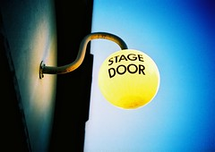 stage door | by slimmer_jimmer