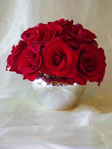 Red Rose Centerpiece Group 9 Simple And Stunning