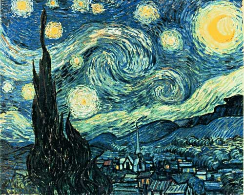 Starry Night by Van Gogh (also a jigsaw puzzle ) | by uhuru1701