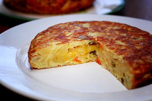 tortilla espanola spanish a portion of spanish tortilla a tortilla de ...