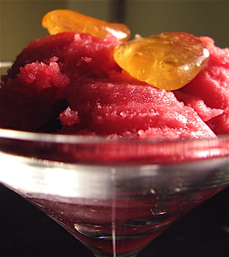 Spiced Honey and Blood Orange Sorbet | with little honey car ...