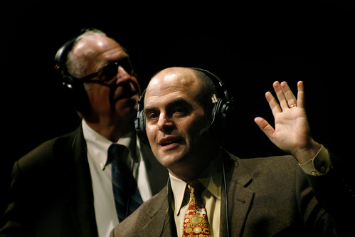 Carl Kasell and Peter Sagal | by WNPR - Connecticut Public Radio