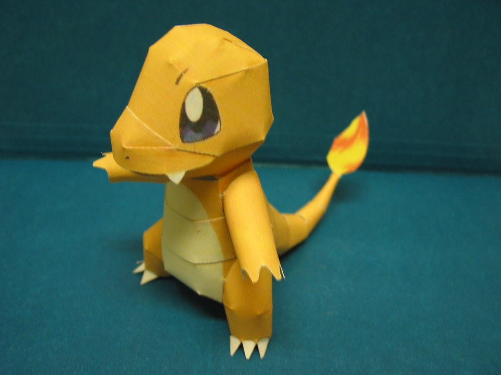 Nintendo Pokemon Papercraft