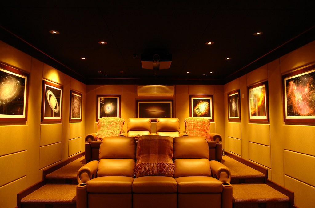 starry night theater home theater. beautiful ideas. Home Design Ideas