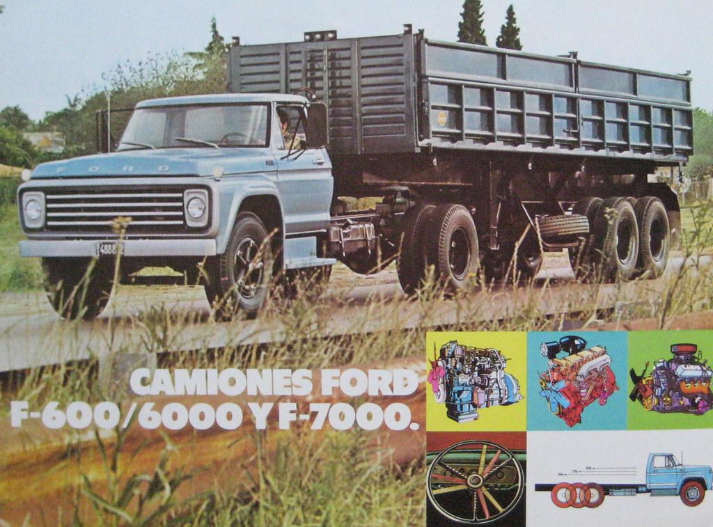 New Ford Trucks >> Ford trucks in Argentina   Argentine Ford trucks generally ...