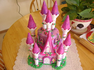 disney princess castle cake charley.salas@sbcglobal.net $75.00 | by Charley And The Cake Factory