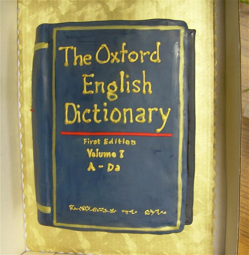 Cake Pan Dictionary