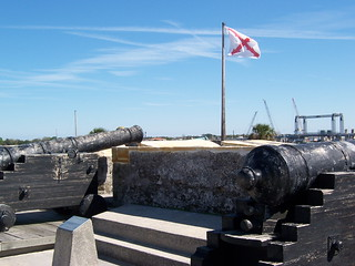 Cannons Overlooking the Bay | by Koocheekoo
