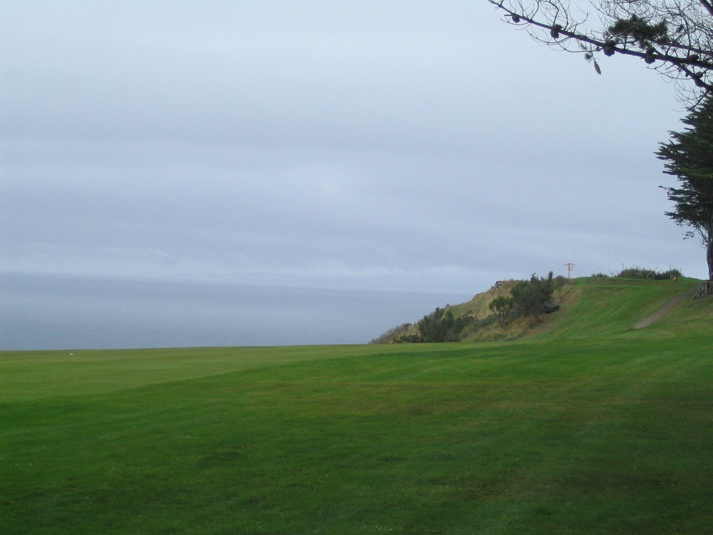 st clair golf course dunedin looking back toward the tee flickr. Black Bedroom Furniture Sets. Home Design Ideas