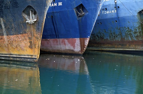 Docked ships | by World Bank Photo Collection