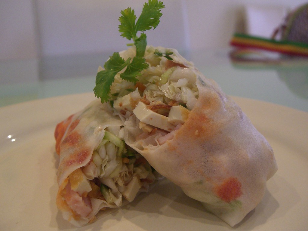 Chinese Cabbage Salad Summer Popiah | It was too hot for a r ...