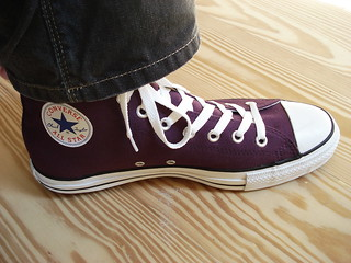 Purple Converse | by xmooth