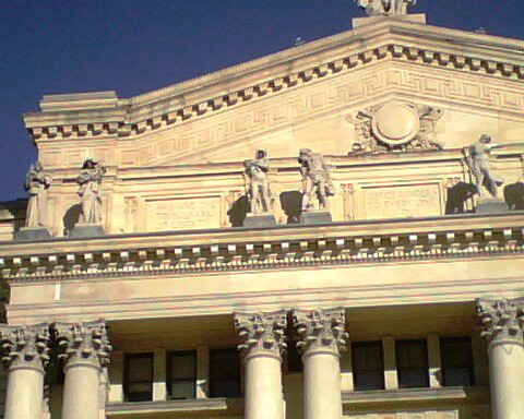 Essex County historic courthouse detail | by Ron Coleman