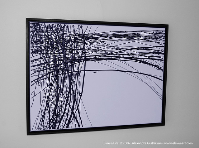 Abstract Line Art Paintings : Abstract painting new york nyc lines life series flickr