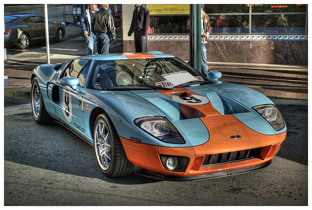 Ford Gt Gulf Colors Hdr Bybymower