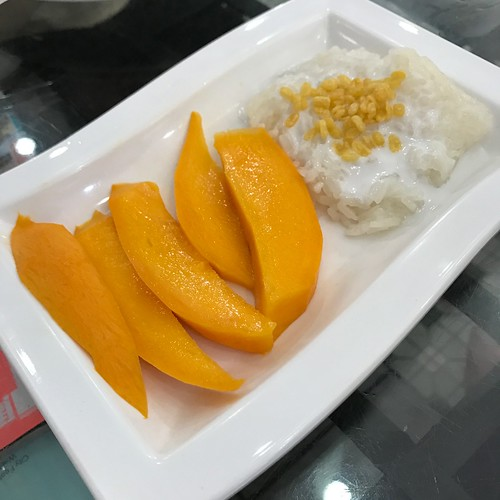 Mango Sticky Rice Dessert - First Thai, Purvis Street, Singapore