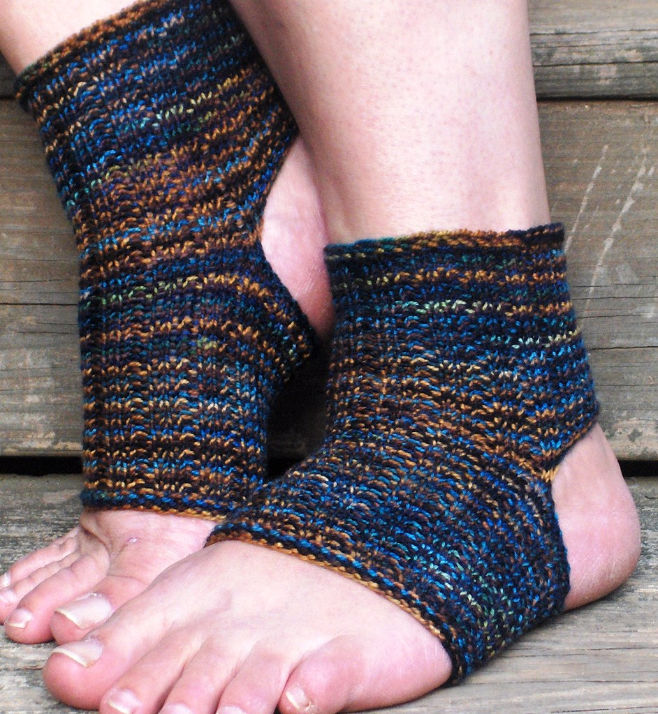 Easy Peasy Yoga Socks Heel Toe Yoga Pilates Sock I Cre Flickr