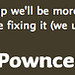 Pownce down for maintenance