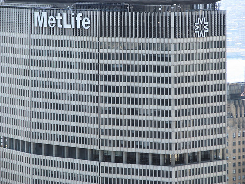 Metlife Building A View Of 200 Park Ave From The Roof