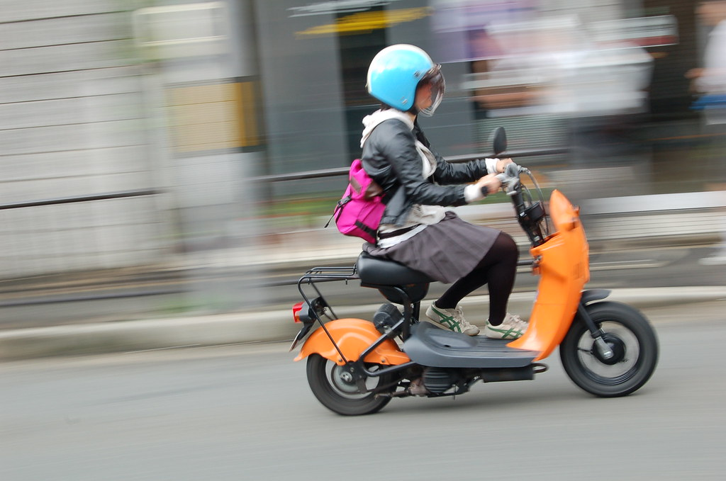 Kyoto Scooter Kyoto Japan Clipper Monsoon Flickr