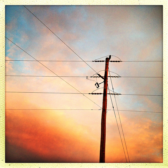 Powerlines_Sunset