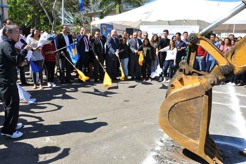 Inicia de construcción de edificio en la Facultad de Arquitectura Mazatlán