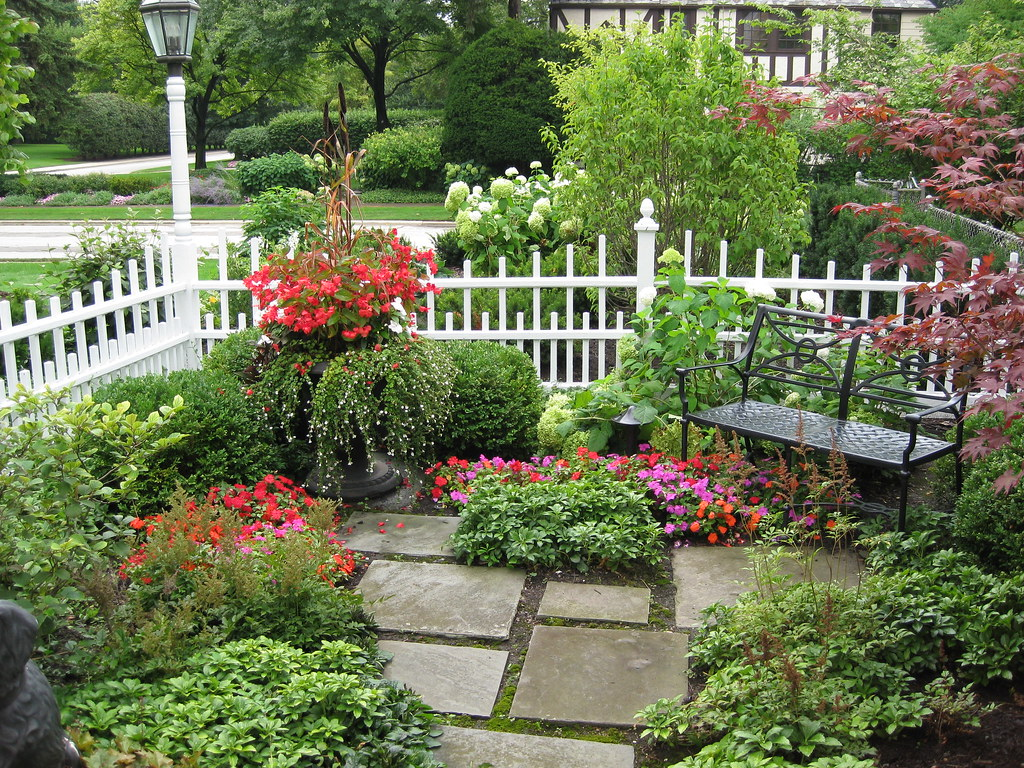 Garden Sitting Area   Enjoy the seasons in this gorgeous ... on Garden Sitting Area Ideas id=51507