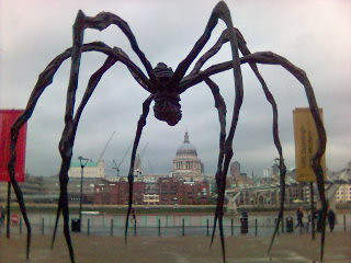 Spider faces down St. Paul's | by velvetdahlia
