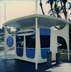 Disneyland Ticket Booth Tomorrowland 1967 | by Miehana