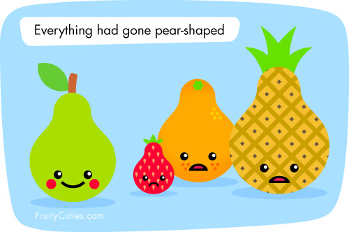 Fruity cuties fruit jokes everything has gone pear - Fruity cuties jokes ...