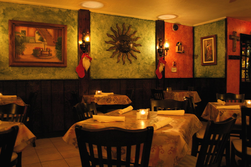 Interior alero mexican restaurant dupont circle area