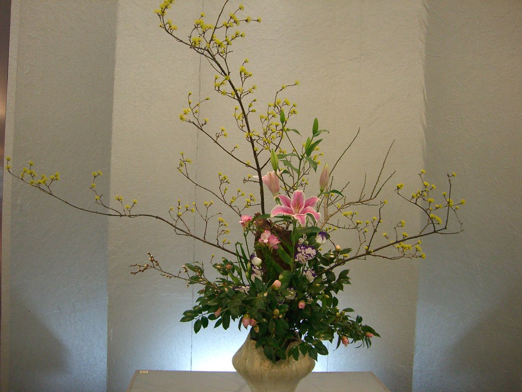 Japanese flower arrangement 4 Ikebana いけばな Nullumayulife