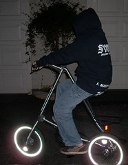 Strida 5.0 at night | by Richard Masoner / Cyclelicious