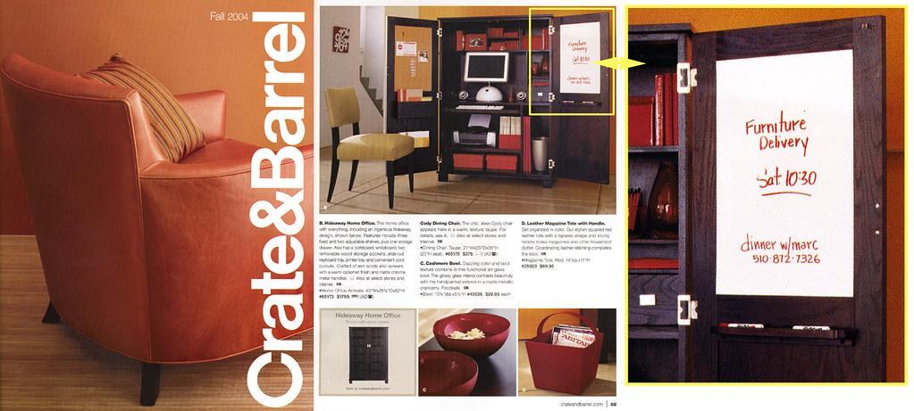 national dinner tour crate and barrel catalog while work flickr. Black Bedroom Furniture Sets. Home Design Ideas