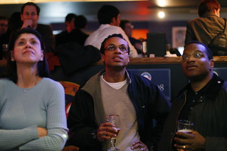 Super Tuesday at the Barack Obama party, Sweet Jane's, Hartford, CT | by WNPR - Connecticut Public Radio