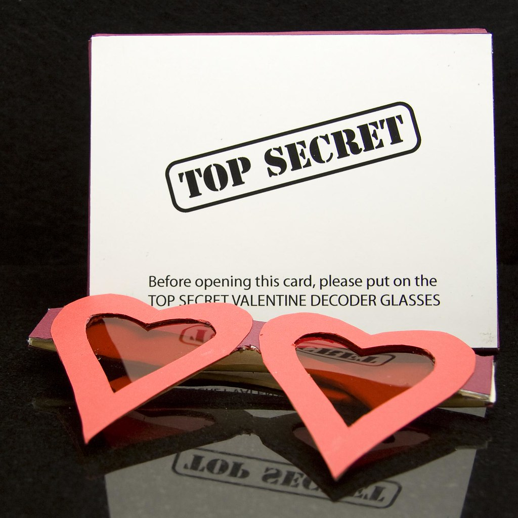 ... Top Secret Valentine | By Ahhhh