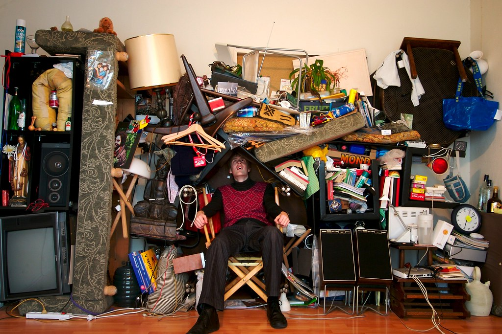 Photo by Jeff Werner via flickr (untitled, subject - Compulsive Hoarding)