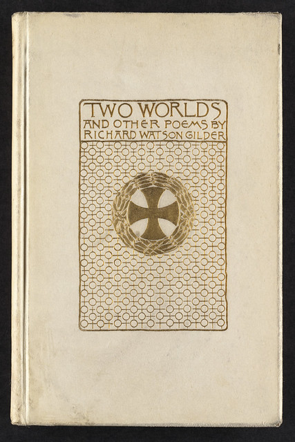 Poetry Book Cover Generator : Two worlds and other poems front cover file name